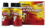 Zep EBBFF2 Bed Bug & Flea Foggers, 2-oz. Aerosol, 3-Pk.