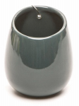 "Deroma 5700574B 5.9"" Teal Wall Pot"
