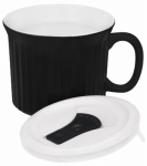 World Kitchen 1105562 22OZ BLK Pop Insulation or Insect Mug