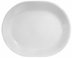 World Kitchen 6003110 12-1/4 WHT Serv Platter