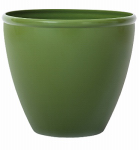 Suncast 1606G4 Planter, Green Gloss Resin, 16-In.