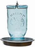 Woodstream 783 Wild Bird Waterer, Antique Blue Mason Jar