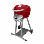 Char-Broil 14601903-DI Bistro Infrared Gas Grill, LP, Red, 12,000-BTU