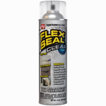 Swift Response FSCL20 Flex Seal Liquid Rubber Sealant Coating, Clear, 14-oz.