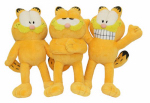 "Multipet International 37124 10"" Garfield Dog Toy"