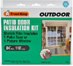 Thermwell V96H Outdoor Patio Door Insulation Kit, 84 x 110-In.