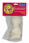 Ims Trading 06010 Dog Treat, Rawhide Bone, 4-In.