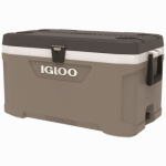 Igloo 49494 Maxcold Ice Chest, Telescoping Handle, 114-Can Capacity, 70-Qts.