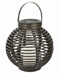 Northern International GL29353BR RND Solar Rattan Basket