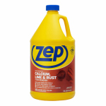 Zep ZUCAL128 Calcium, Lime & Rust Stain Remover, 1-Gal. Concentrate