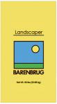 Barenbrug Usa 46650 Grass Seed, Landscaper, 50-Lbs.
