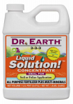 Dr Earth 751 Liquid Solution All-Purpose Organic Fertilizer, 3-3-3, 1-Pt. Concentrate