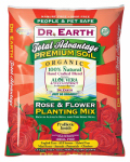 Dr Earth 805 Rose & Flower Planting Mix, 1.5-Cu. Ft.
