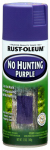 Rust-Oleum 270970 No Hunting Purple Spray Paint, 12-oz.