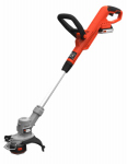 Black & Decker LST300 Max String Trimmer, Gear Drive, 20-Volt Lithium-Ion Battery, 12-In.