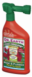 Dr Earth 1016 Total Advantage Rose & Flower Organic Fertilizer, 5-7-2, 32-oz. Ready-to-Use