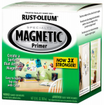 Rust-Oleum 247596 Premium Latex Magnetic Paint Primer, Qt.