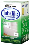 Rust-Oleum 7860519 Tub & Tile Refinishing Kit, White, 2 Part, 32-oz.