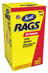 Kimberly Clark/Scott Diy Bus 75240 85-Pack Rag in a Box, White