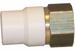 Genova Products 57905Z CPVC Transition Adapter, Lead-Free Brass, 1/2-In. MPT