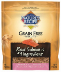 American Distribution & Mfg 518560 Dog Food, Grain-Free Biscuit, Salmon & Potato, 14-oz.
