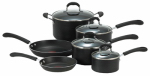 T-Fal/Wearever E938SA84 Professional Cookware Set, Non-Stick, Black, 10-Pc.
