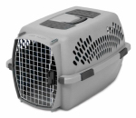 Petmate 21085 Pet Carrier, Light Gray, For 15-20-Lbs.