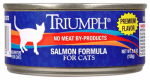 Sunshine Mills 00323 Cat Food, Canned, Premium Salmon, 5.5-oz.