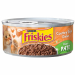 American Distribution & Mfg 42324 Cat Food, Country Style Dinner, 5.5-oz. Can