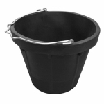 Qingdao Huatian Hand Truck MR8QR/BUCK-BLK MR 8QT Rubber Bucket