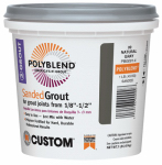Custom Bldg Products PBG1221-4 Sanded Repair Grout, Linen, 1-Lb.