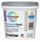 Custom Bldg Products NSG3811-4 Non-Sanded Repair Grout, Bright White, 1-Lb.