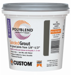 Custom Bldg Products PBG3821-4 Sanded Repair Grout, Bone, 1-Lb.