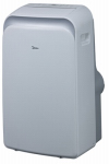 Midea America Corp/Import MPPD-14HRN1-BH9 Portable Air Conditioner, Cool & Heat, 14,000-BTU