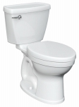 American Standard Brands 2793128NTS.020 Toilet To Go Bowl & Tank, Low-Flow, Elongated Front, White