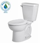 American Standard Brands 2880128ST.020 Cadet 3 Round WHT Toilet