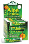 Miracle Of Aloe 22005 Aloe Lip Balm SPF 15