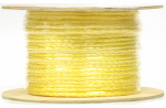Wellington Cordage P2424S0600YFR 3/8x600 Yellow Braid Rope