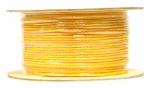 Wellington Cordage P2416S1000YFR 1/4x1000 Yellow Braid Rope