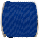 Wellington Cordage P7240S0200BFR 5/8x200 BLU Braid Rope