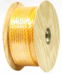 Wellington Cordage P9M32S0300YFR 1/2x300 Yellow Twist Rope