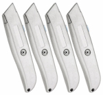Ningbo Xingwei Cutting Tools 176209 Retractable Blade Utility Knife, 4-Pk.