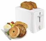 Hamilton Beach Brands 22611 2-Slice Toaster, White