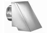 "M&G Duravent 4PVL-HSCR PELLETVENT HORIZONTAL CAP, SQUARE W/ 4"" INNER DIAMETER"