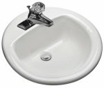 Mansfield Plumbing Products 239-4BON Bone Self Rim Lavatory