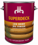 Duckback Products DP-7300-4 GAL BRN Log Home Finish