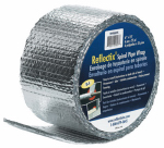 Reflectix SPW0602508 Spiral Pipe Wrap, Standard Edge, 6-In. x 25-Ft.