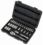 Stanley Consumer Tools 92-804 Socket Set, 1/4-In. SAE, 30-Pc.