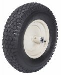 Scenic Road Mfg SRWK Wheelbarrow Tire, Knobby, 4-Ply, 16-In.