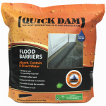 Absorbent Specialty Products QD617-1 Flood Barrier Fabric, Black, 6-In. x 17-Ft.